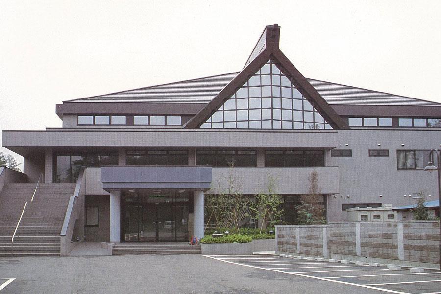 旧東北電力(株)福島体育館