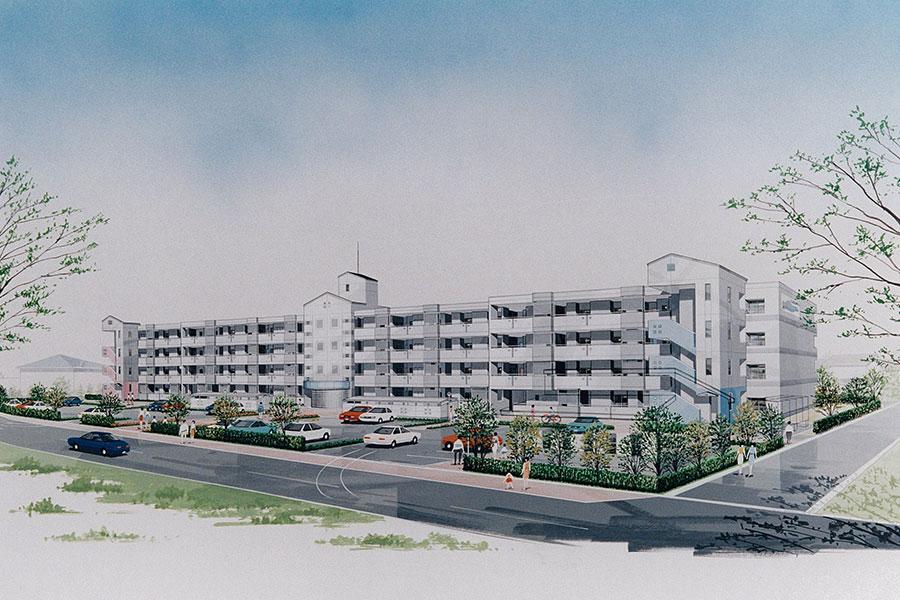 福島市営住宅泉団地